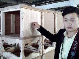 Мебель из Китая в классическом стиле