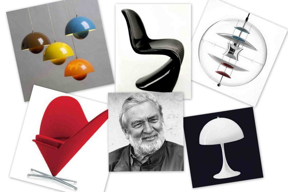 Реплики известных дизайнеров. Знаменитый Panton Chair  и другие работы Вернера Пантона.