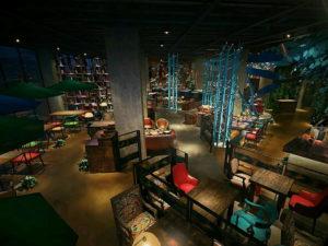 Лучший дизайн ресторана - клуба - бара в Китае для полноценного отдыха