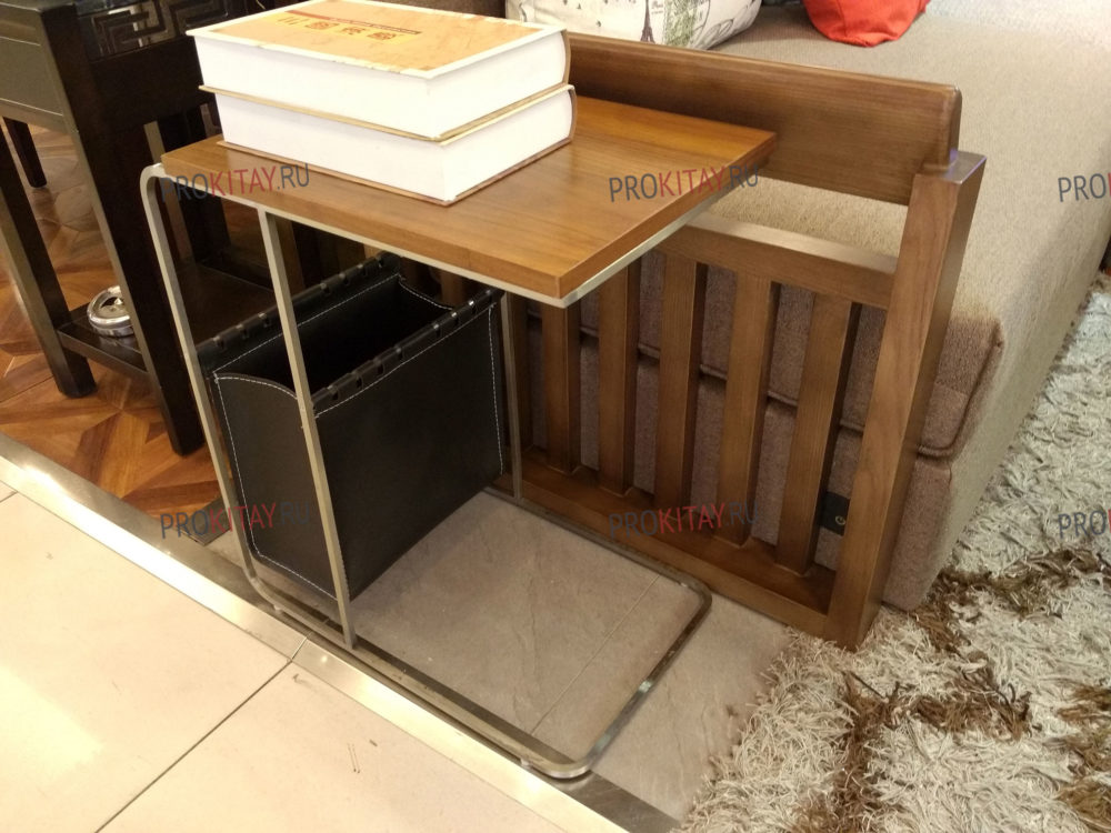 Фото из шоурума современной мебели: массив ореха+мдф+шпон в коричневых тонах-4