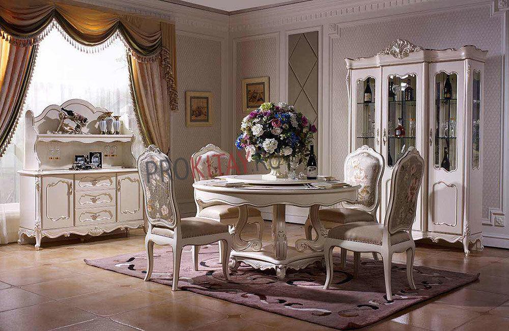 Белая классическая мебель-4