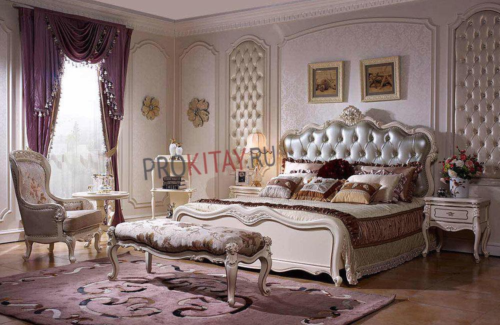 Белая классическая мебель-3