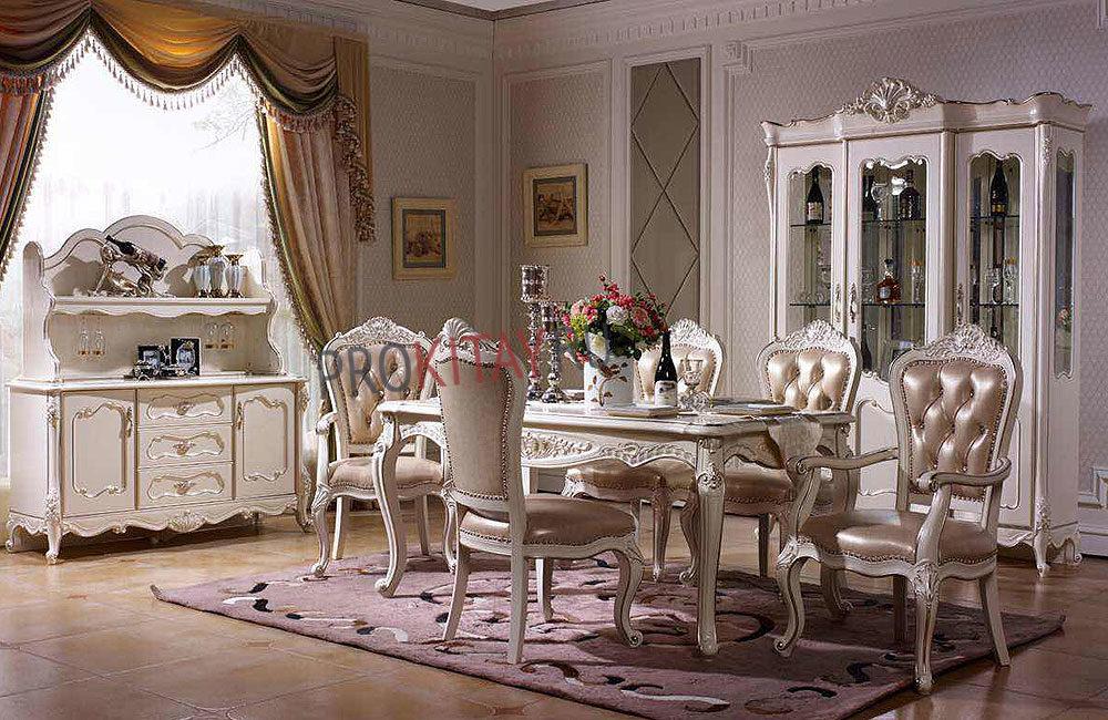 Белая классическая мебель-1