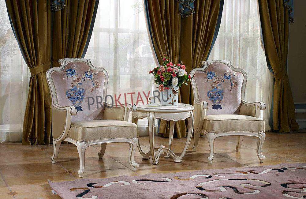 Белая классическая мебель-0
