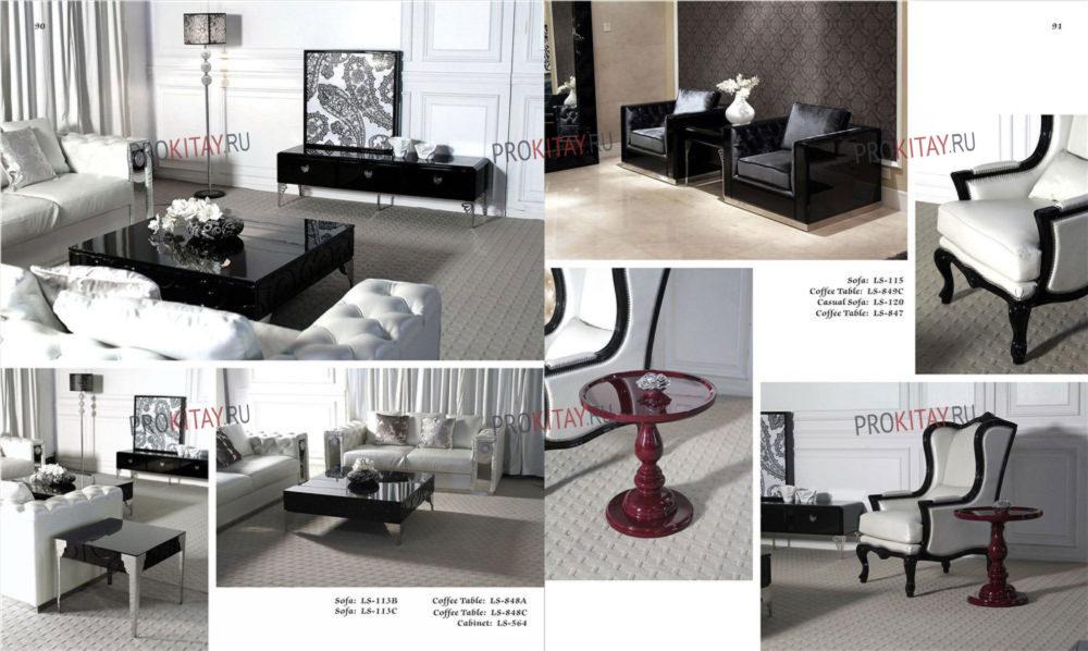 Реплики мебели известных дизайнеров в стиле Арт-Деко-0