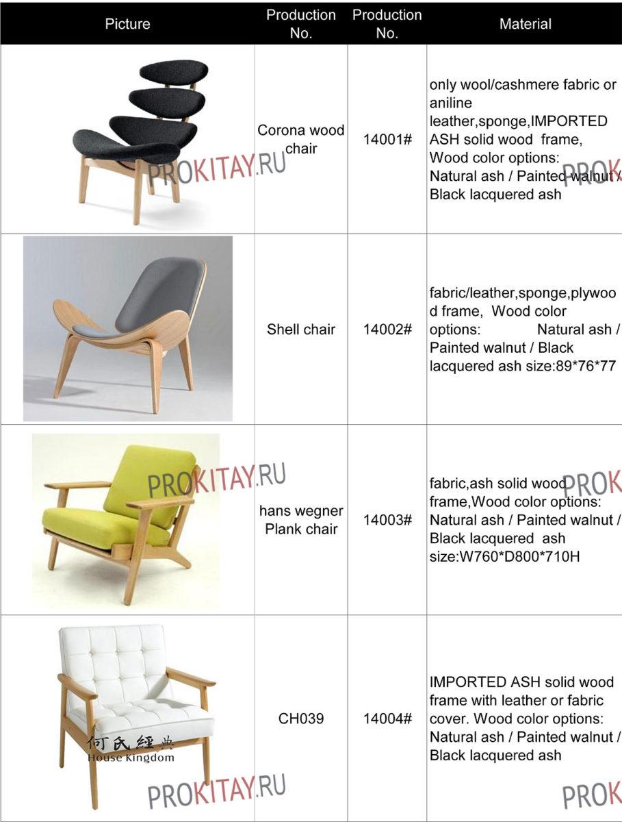 Дизайнерская мебель: столики, стулья для дома и кафе-2