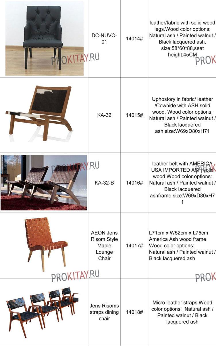 Дизайнерская мебель: столики, стулья для дома и кафе-4