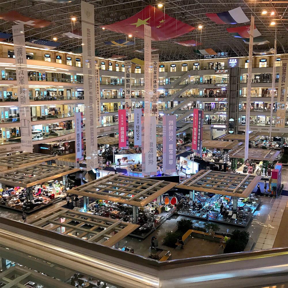 Мебельные центры Фошаня в Гуанчжоу